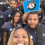 Selfies on fleek at the AmeriCorps Launch